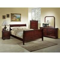 Cherry Louis Bedroom Set