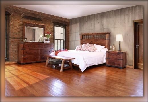 Parota Queen Bedroom Set