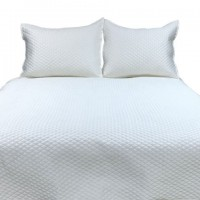 Dietrick - Ivory - King Quilt Set