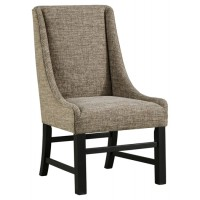 Sommerford - Brown - Dining UPH Arm Chair (2/CN)