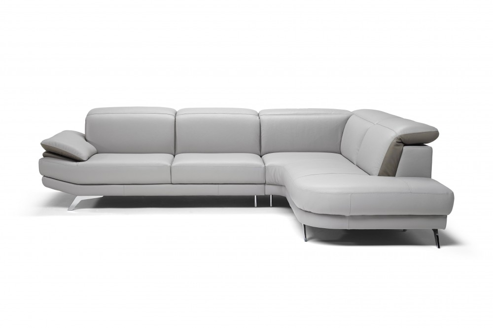 sectionals sectional natuzzi recliners with power julius white julie sect leather piece chaise