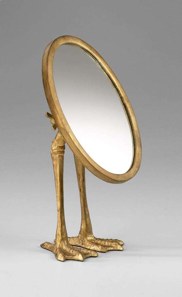 Duck Leg Mirror Gold