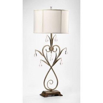 Sophie Table Lamp Gold Leaf