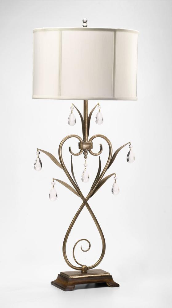 Sophie Table Lamp Gold Leaf