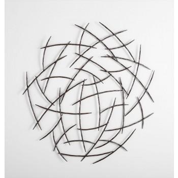 Elias Wall Art Iron Graphite