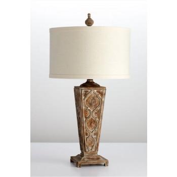 Nadja Table Lamp w/CFL Parsons White