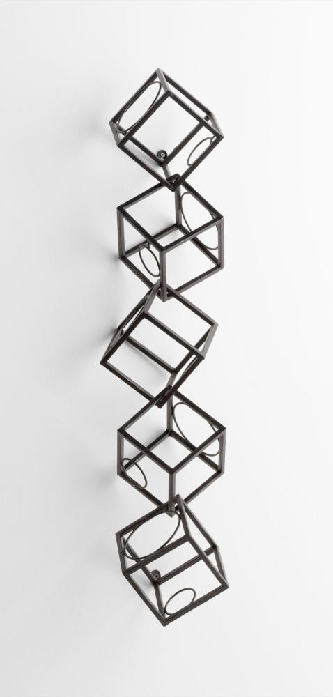 Dali Wine Rack Iron Rustic
