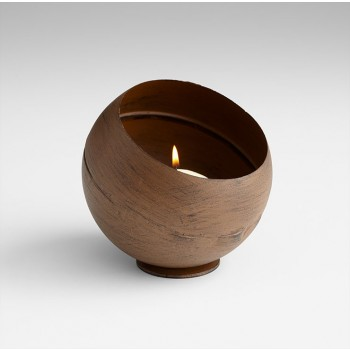 Medium Acorn Candleholder Copper
