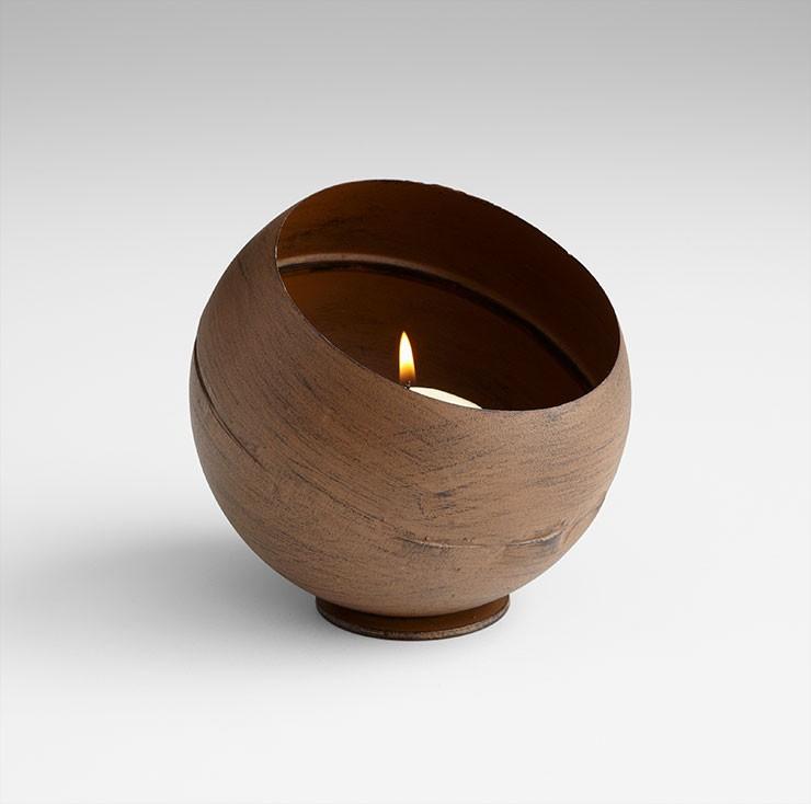 Medium Acorn Candleholder Copper