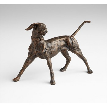 Fetch Sculpture Iron Bronze