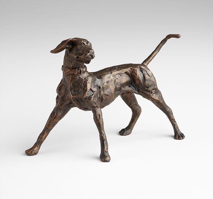Fetch Sculpture Iron Bronze