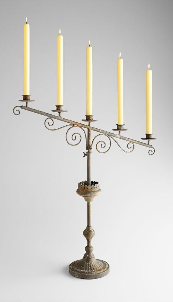 Lyon Candleholder Rust
