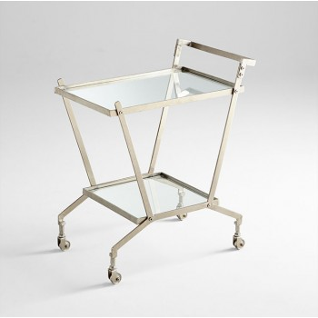 Carrello Bar Cart Nickel