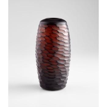 Large Comet Vase Amber