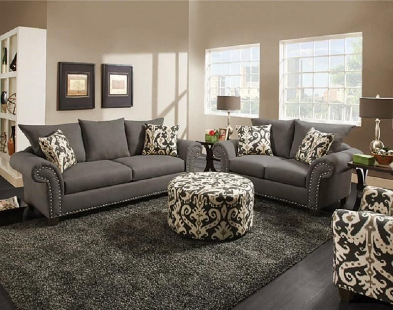 Keira Living Room Set CORIN66MSET Sofa Loveseat Groups