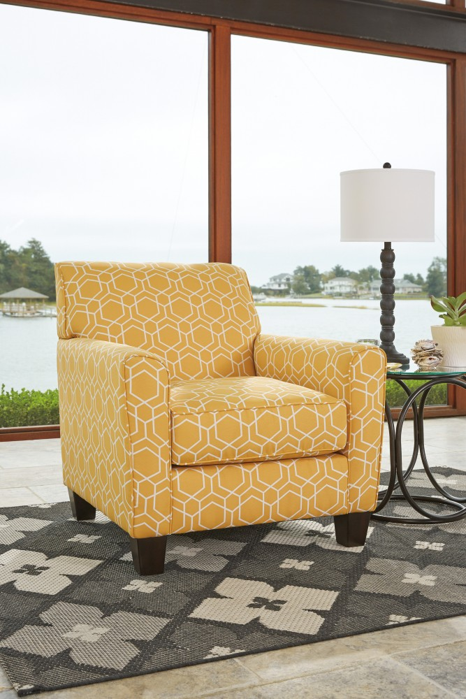 Ayanna Nuvella   Gray   Accent Chair