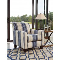Ayanna Nuvella - Blue - Accent Chair