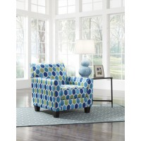 Ayanna Nuvella - White - Accent Chair