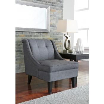 Calion - Gunmetal - Accent Chair