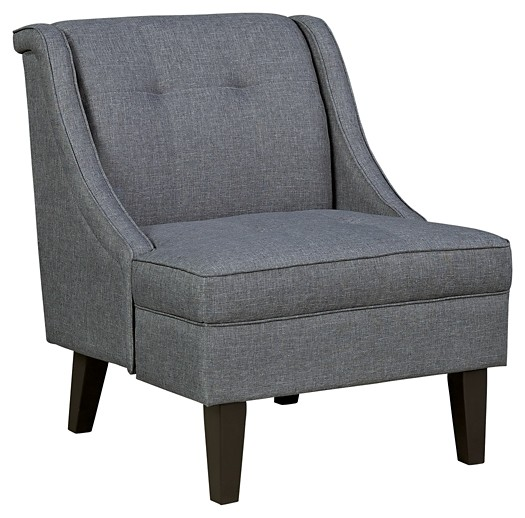 Fabulous Calion Gunmetal Accent Chair Caraccident5 Cool Chair Designs And Ideas Caraccident5Info