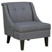 Calion - Gunmetal - Accent Chair