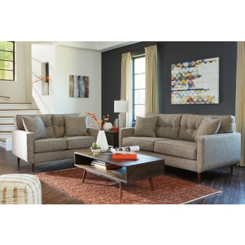 Dahara - Jute - Sofa & Loveseat