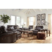 Canterelli - Chestnut - Sofa & Loveseat