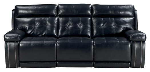 Super Graford Navy Pwr Rec Sofa With Adj Headrest Ibusinesslaw Wood Chair Design Ideas Ibusinesslaworg