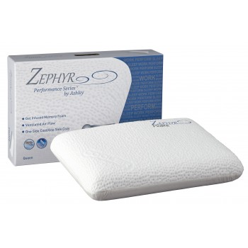 Zephyr Prime - White - Gel Memory Foam Pillow