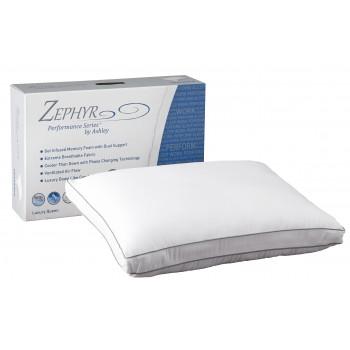 Zephyr Opulence - White - Gel Memory Foam Pillow