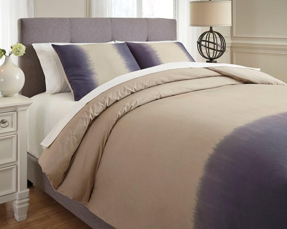 Brandon - Indigo - Queen Comforter Set