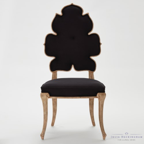 Wiggle Dining Chair-Black