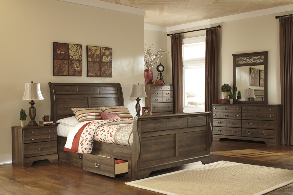 Allymore 5 Pc. Bedroom   Dresser, Mirror U0026 Queen Sleigh Bed