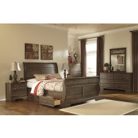 Allymore 5 Pc. Bedroom - Dresser, Mirror & Queen Sleigh Bed