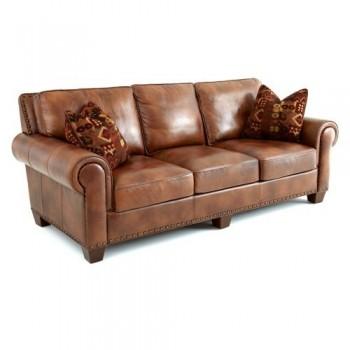 Silverado Brown Leather Sofa