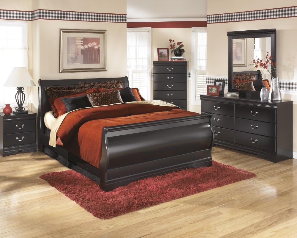 dresser and chest set. Huey Vineyard 7 Pc. Bedroom - (3 Queen Sleigh Bed, Dresser And Chest Set