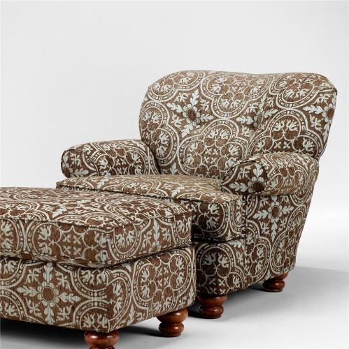 Chunkster Chocolate Accent Chair
