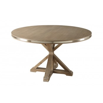 Round Stainless Steel Table