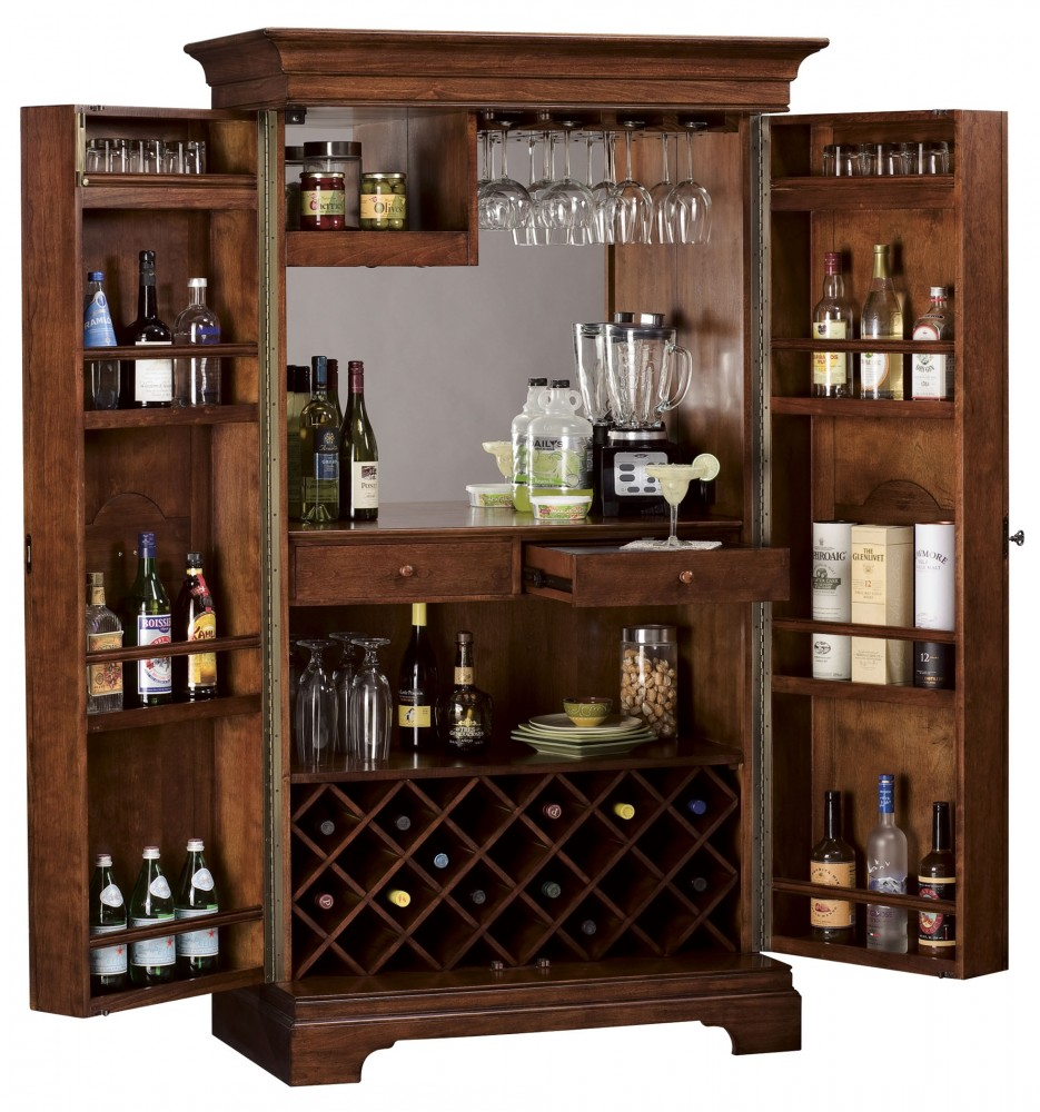 Barossa valley wine bar cabinet