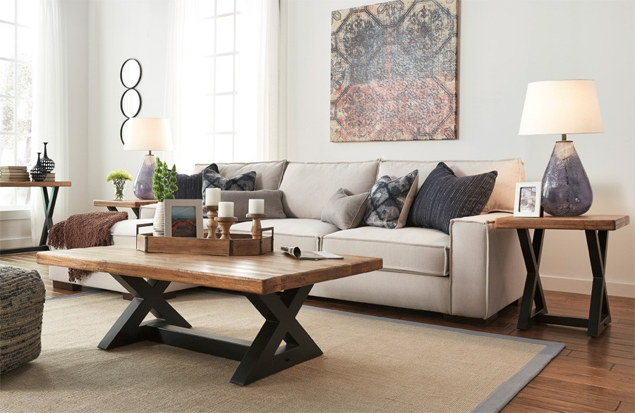 Kendleton Corner Chaise & Sofa