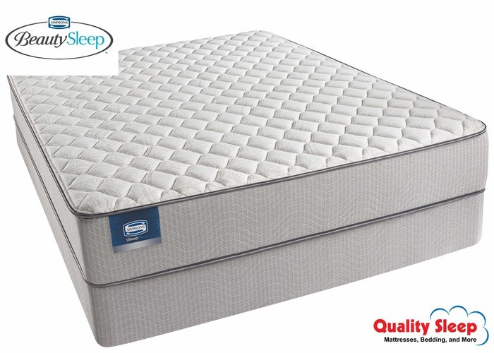 Simmons Beautysleep Series Areca Palm Firm Mattress Set