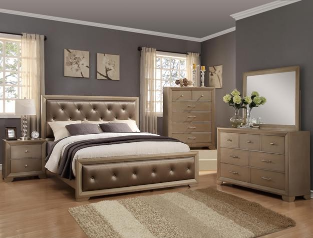 Crown Mark B1700 Queen Bedroom Suite