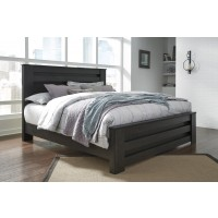 Brinxton - Black - King/Cal Poster Bed
