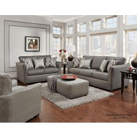 1380 Technique Charcoal Sofa & Loveseat