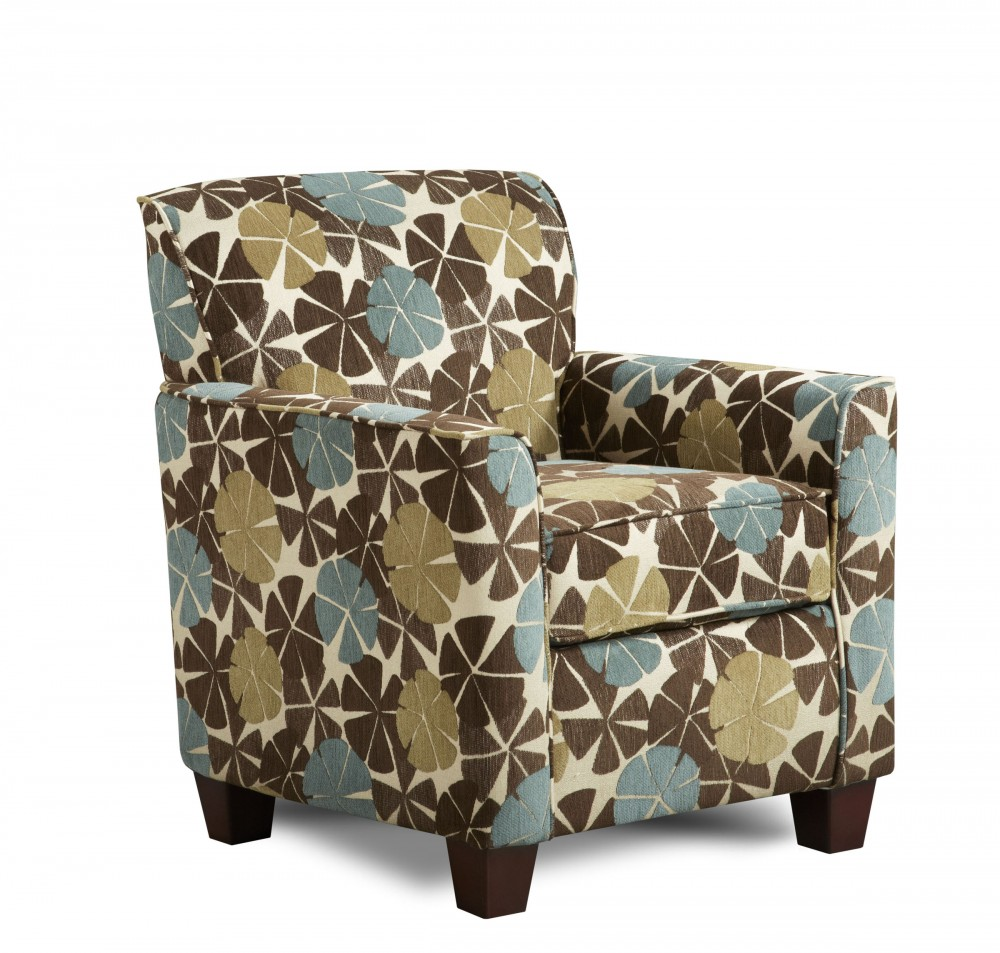 2800 Viola Chocolate Accent Chair