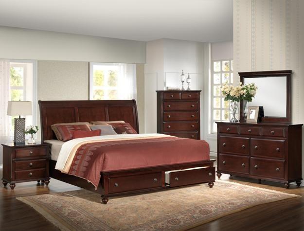 Crown Mark Farrow Queen Bedroom Group: Crown Mark 6075 Queen Bedroom Suite