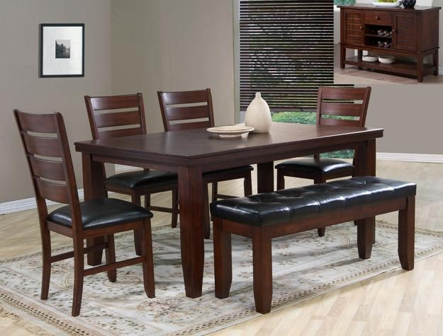 Crown Mark 2152 6 Pc Dinette 2152 Dining Room Groups