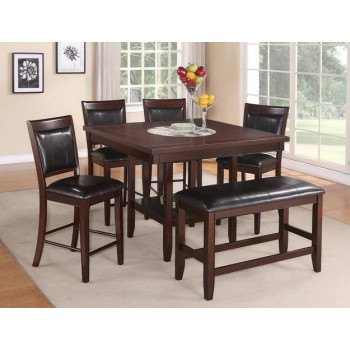 Crown Mark 2727 6 Pc Dinette 2727 Dining Room Groups