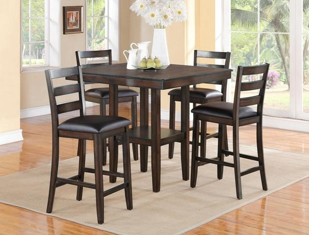 Crown Mark 2630 5 Pc Dinette 2630 Dining Room Groups