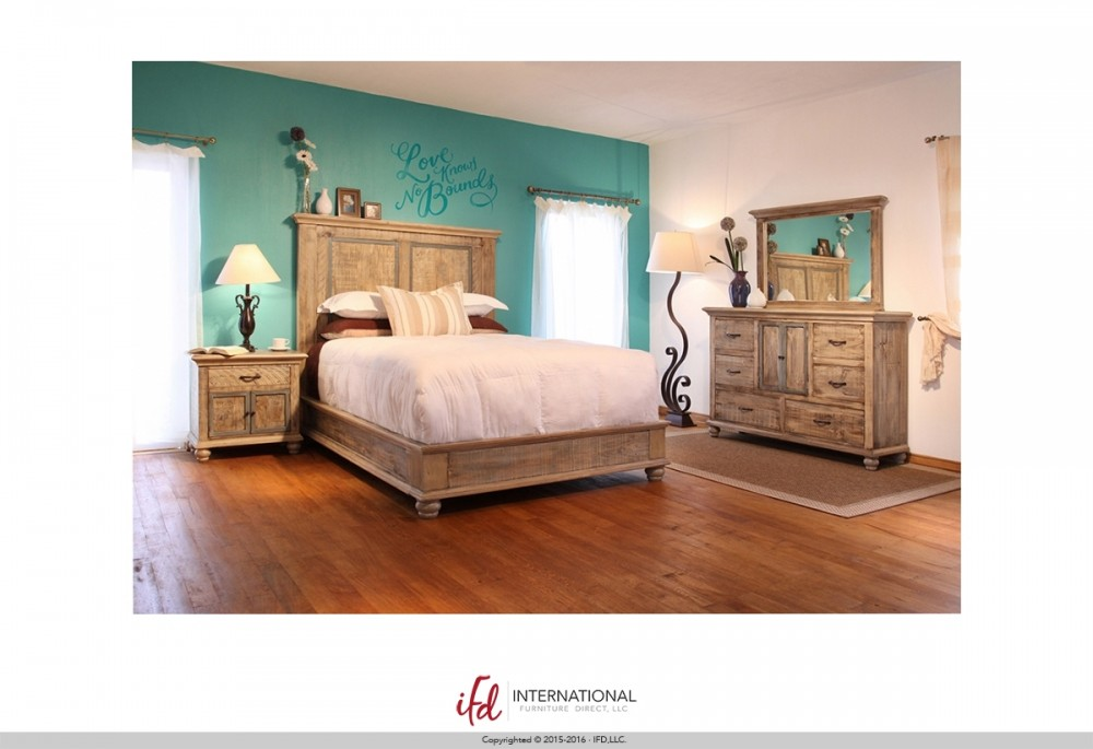 IFD 968 Queen Bedroom Suite
